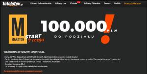 totolotek promocja 100.000