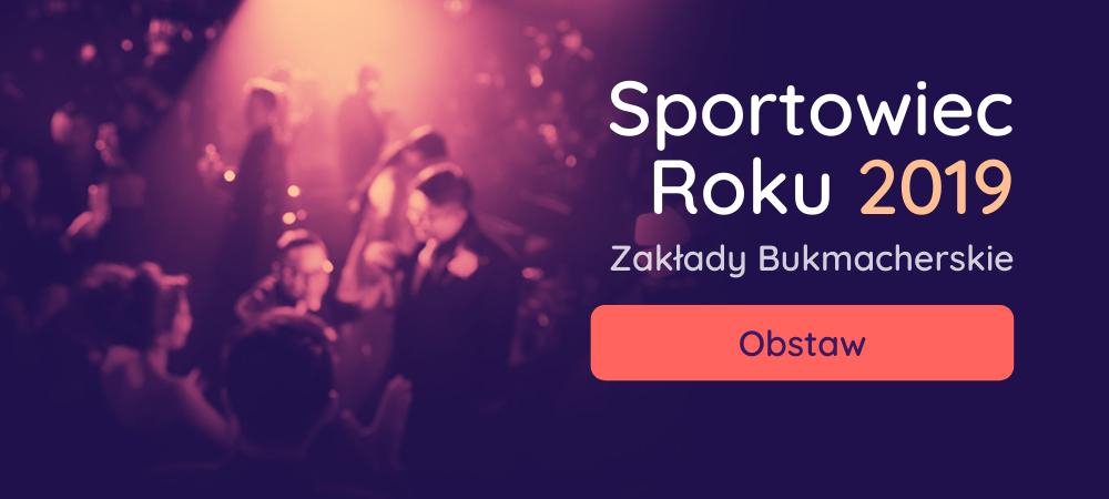 sportowiec roku 2019 zaklady bukmacherskie