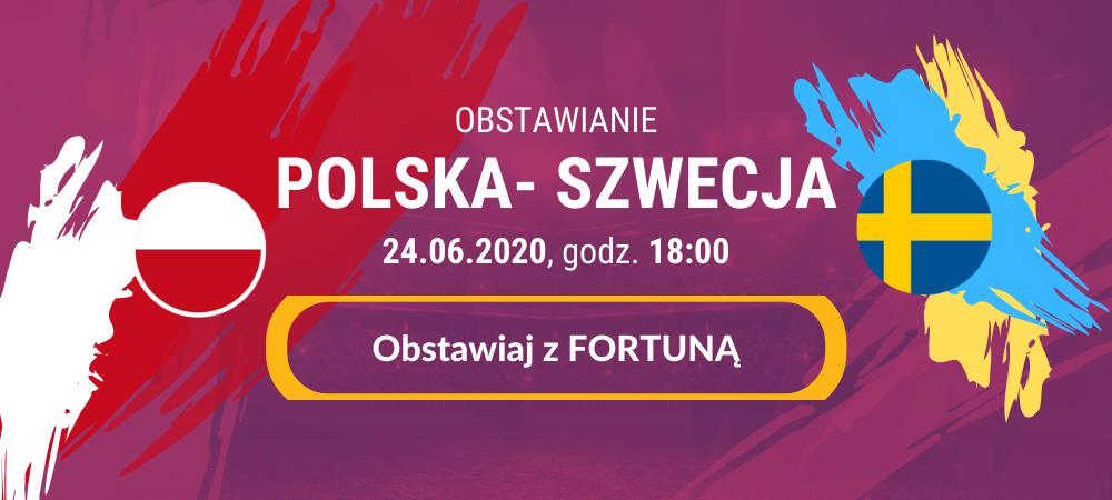 polska szwecja obstawianie